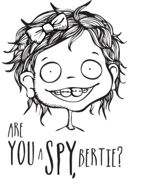 A series of illustrations for children's book 'My Name is Bertie Poshkza'