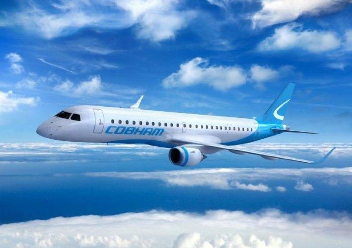 Aircraft livery design for Cobham Aviation Services